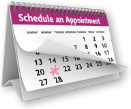 Schedule an appointment now!