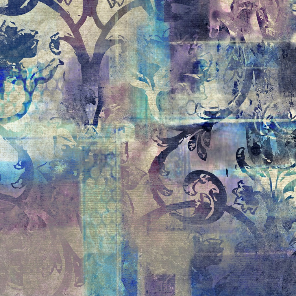 art floral grunge background pattern